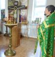 В женской исправительной колонии № 18 г. Азова состоялась Божественная литургия