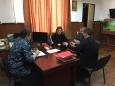 Помощник начальника по работе с верующими встретился с руководством СИЗО-1