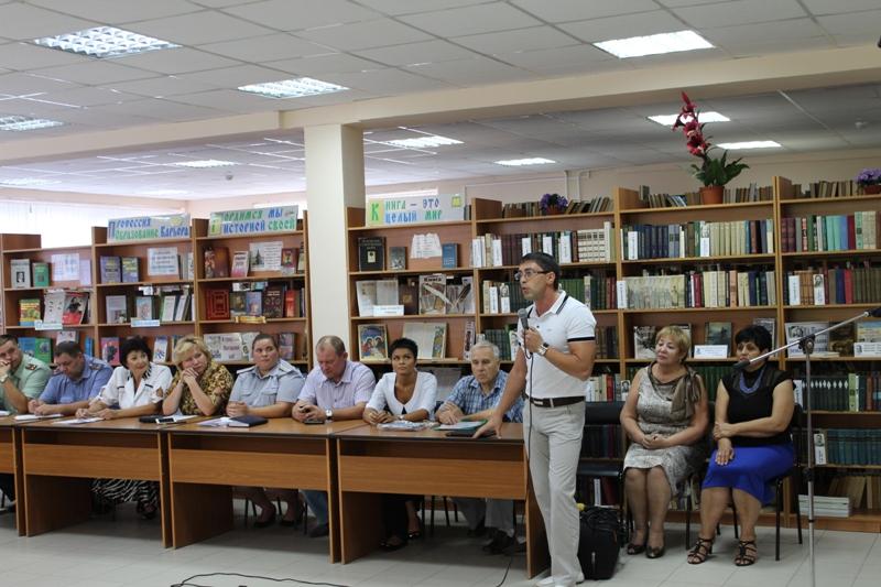 Алексей Селезень рассказал о реабилитационном центре.JPG