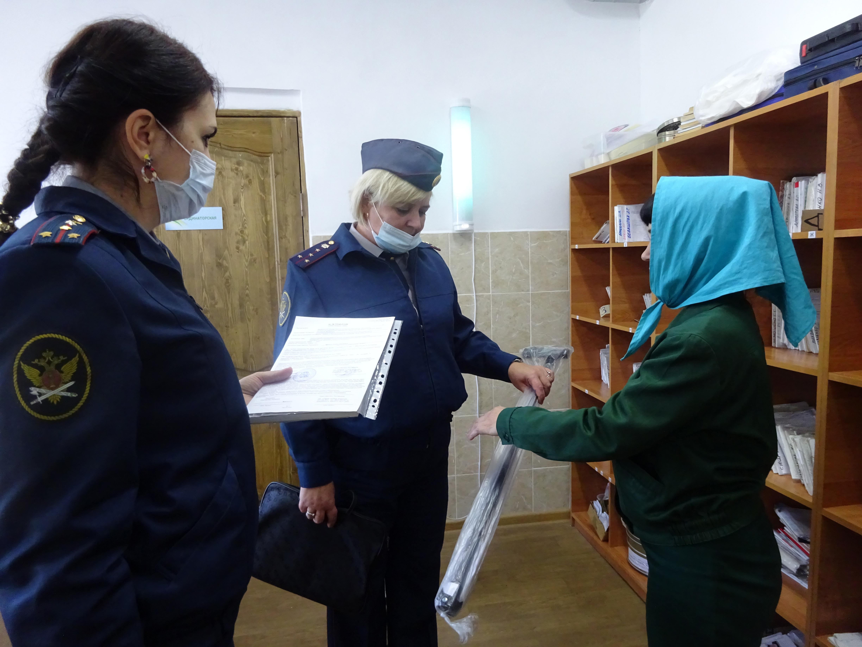 В Ростовской области, осужденные с ограниченными возможностями обеспечиваются новыми средствами реабилитации