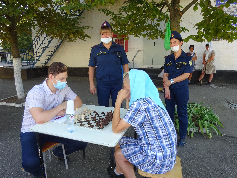 Шахматный турнир в ИК-18