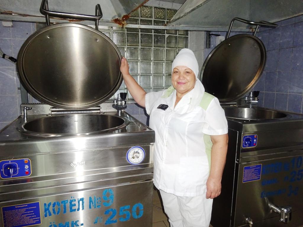 В азовской исправительной колонии определены лучшие повар, пекарь, швея, мастер чистоты и строитель среди осужденных женщин