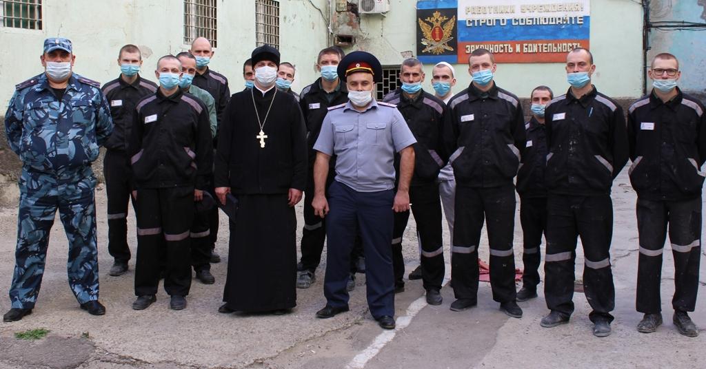 Представители межрелигиозной рабочей группы ГУФСИН посетили следственный изолятор №1