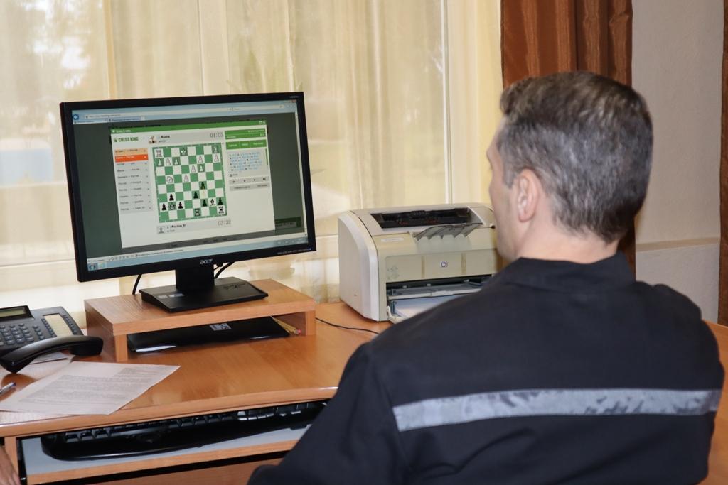Осужденный исправительной колонииг. Батайска принял участие воВсероссийском Чемпионате по шахматам ФСИН России
