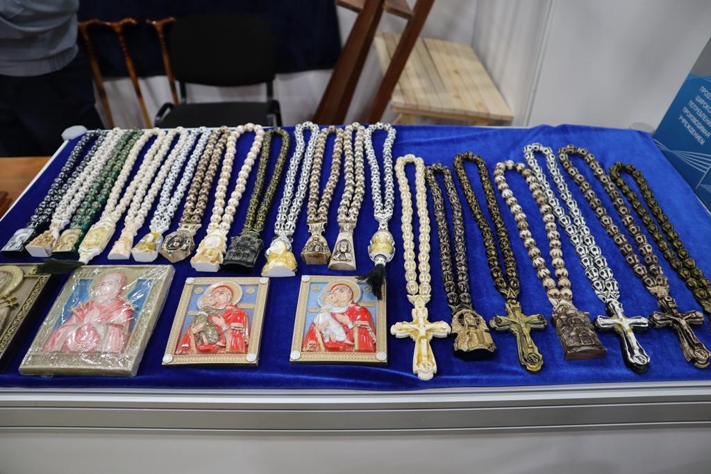 Сувенирная продукция осужденных Ростовской области представлена на выставке-ярмарке «Дон Православный»
