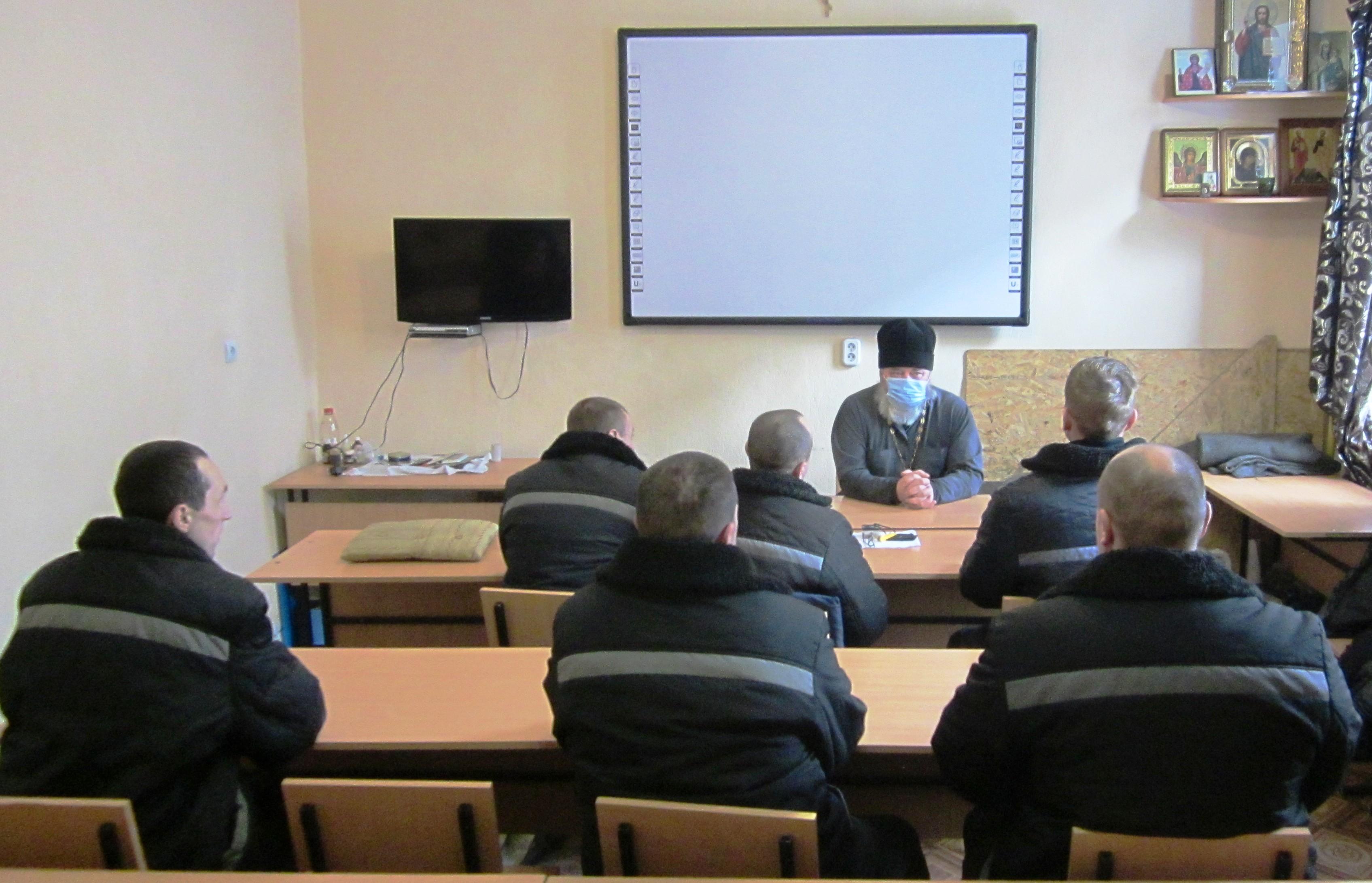 Руководитель проекта «Приют милосердия» посетил колонию строгого режима № 15 г. Батайска